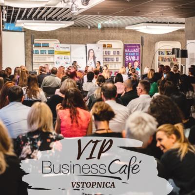 VIP vstopnica Business Café